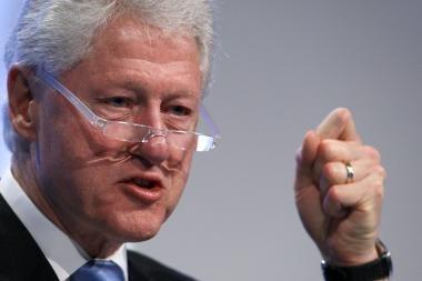 Buvusiam JAV prezidentui B.Clintonui atlikta širdies kraujagyslių valymo procedūra