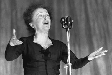 Išskirtinis pirmadienio vakaras su E.Piaf dainomis