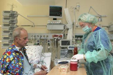 Vienam ligoniui persodinti ir plaučiai, ir širdis (papildyta)