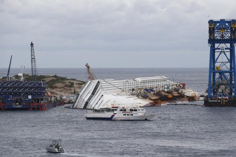 Italijos sala mini prieš metus įvykusią kruizinio laivo tragediją