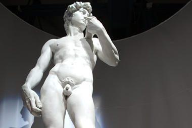 "Kam priklauso Michelangelo ""Dovydas""?"