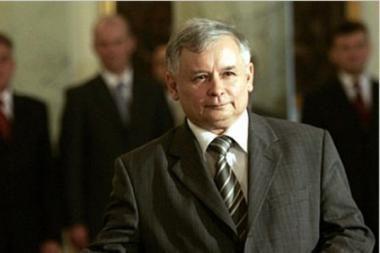 J.Kaczynskis kelia savo kandidatūrą į Lenkijos prezidento postą
