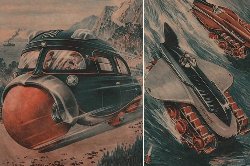 Ateities transportas – 1936-ųjų plakatuose (modeliai)