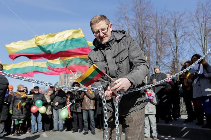 """Kovo 11-ąją Klaipėdoje atidarytas """"Laisvės tiltas"""""""