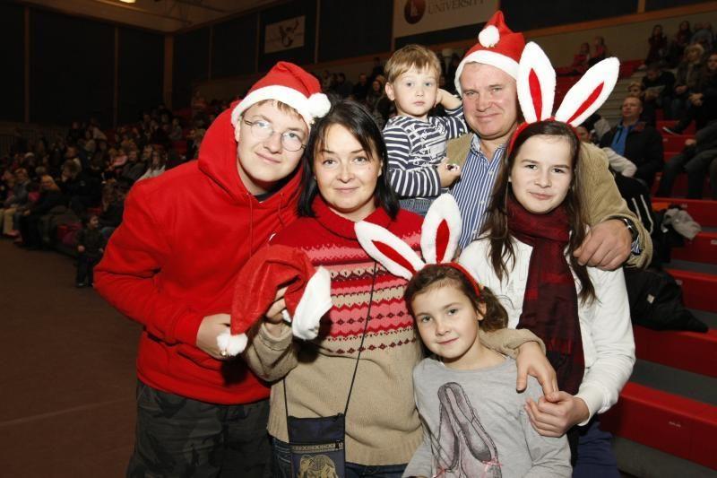Gausioms Klaipėdos šeimoms – dosnios dovanos