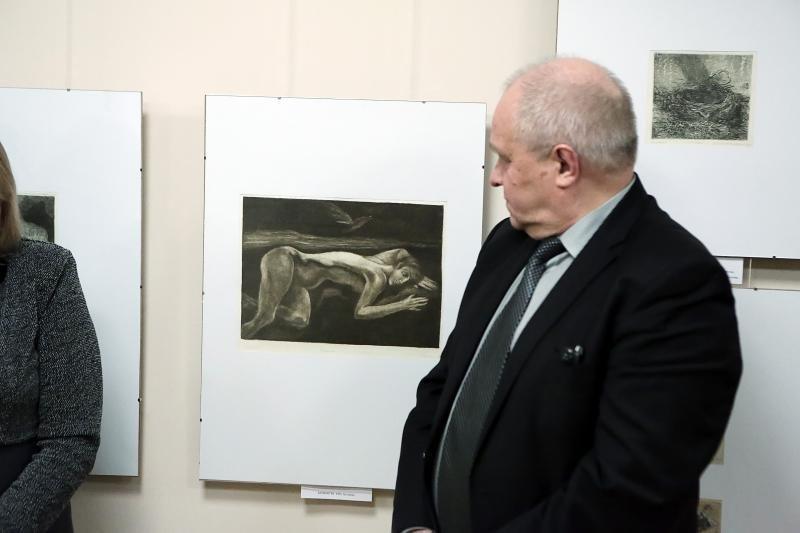 Parodoje – grafikės L.Gedvilaitės-Sakalauskienės atidėtas laikas
