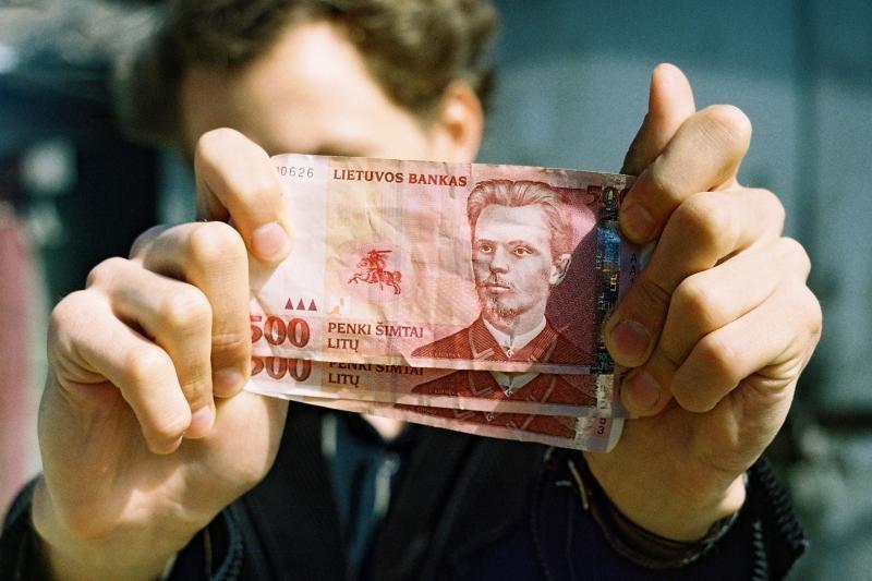 Vidutinis atlyginimas Vilniuje - 1880 litų