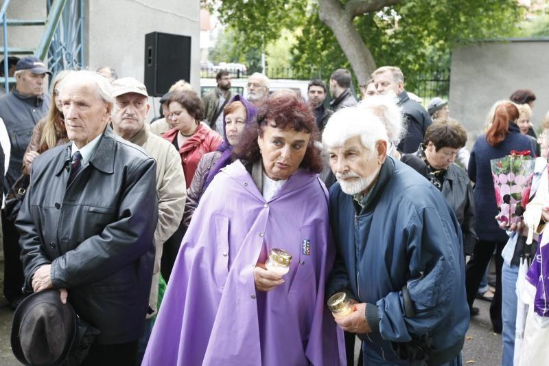 Uostamiestyje prisimintos žydų genocido aukos, padėkota jų gelbėtojams