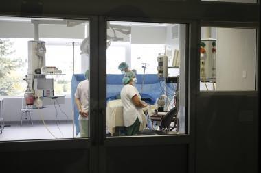 Vilniuje į ligoninę paguldytas komos būsenos vyriškis