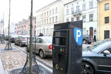 Klaipėdos centre apgadintas stovos skaitiklis