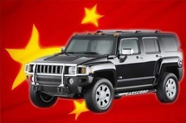 """""""Hummer"""" bus kiniškas"""