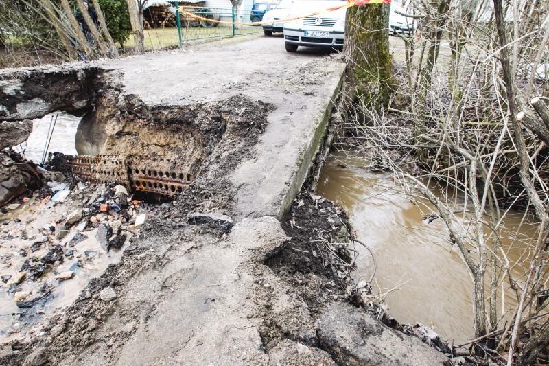 Specialistai: nesant lietaus kanalizacijos – potvyniai užprogramuoti