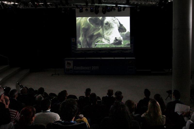 Arenos amfiteatre - filmo apie serbų krepšinio legendą pristatymas