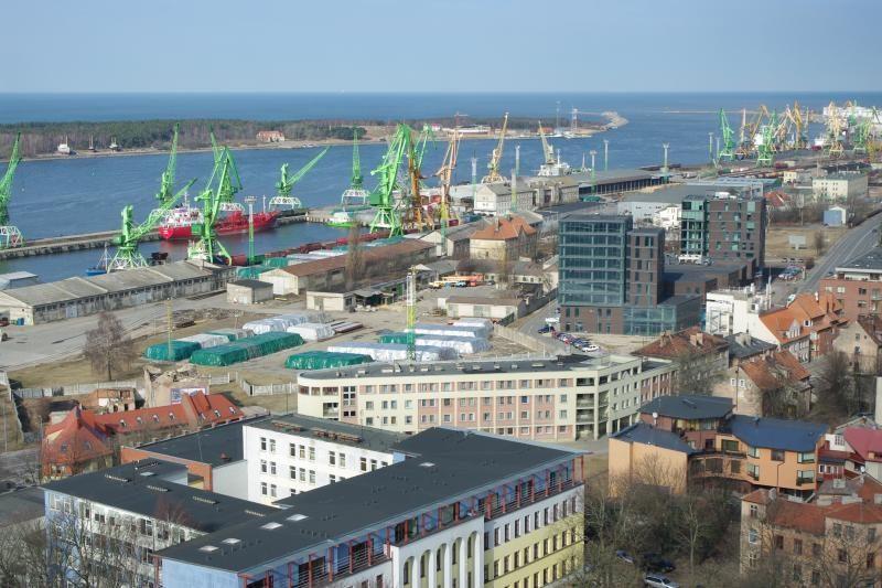 Miestui - viltis gauti dalį Klaipėdos uosto pinigų