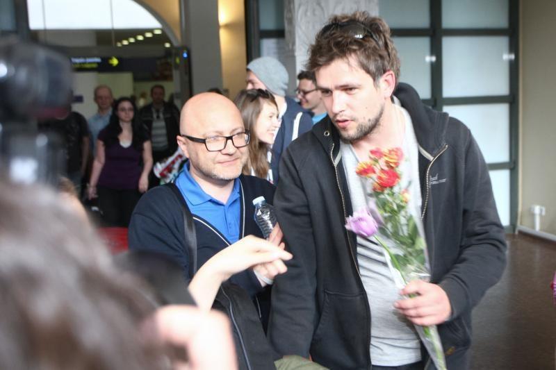 """Iš """"Eurovizijos"""" grįžęs A. Pojavis: aš jau laimėjau, nes ten dalyvavau"""