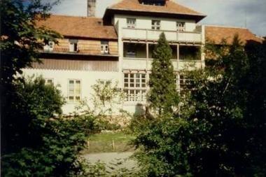 Buvusi vaikų tuberkuliozės ligoninė Giruliuose - vertybė