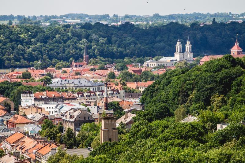 Kauno panoramos: kokie atsiveria miesto  vaizdai