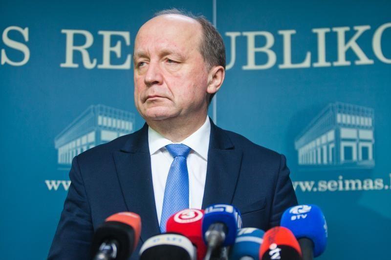 Premjeras aptarė kandidatą į vidaus reikalų ministru su A.Čapliku