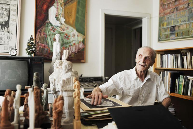 90-metis kraštotyrininkas L.Juozonis: aš dar turiu parako