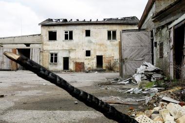 Klaipėdoje ir vėl degė apleistas namas