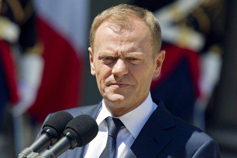 D.Tuskas: Lietuvoje gyvenantiems lenkams svarbu mokėti lietuvių kalbą