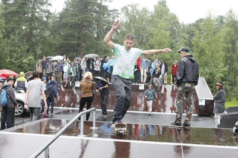 Klaipėdos poilsio parke – vandalų baimė