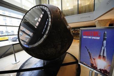 Parduodama J. Gagarino erdvėlaivio pirmtakė