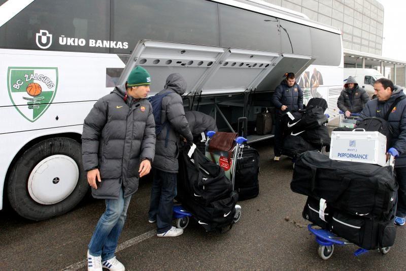 """Į Kauną atvykusios """"Barcelonos"""" treneris: """"Bus labai sunku"""""""