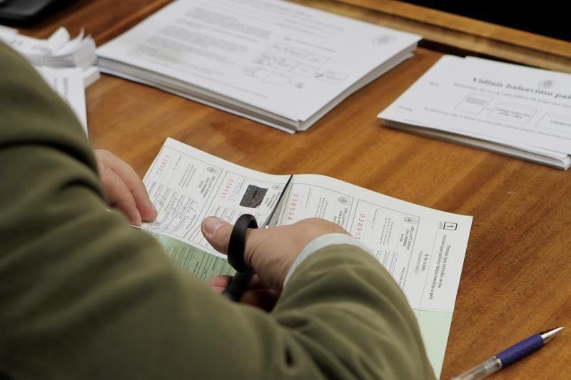Policija: Alytuje užfiksuotas bandymas papirkti rinkėjus