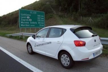 """""""Ibiza Ecomotive"""" – 2,34 litro 100 kilometrų"""