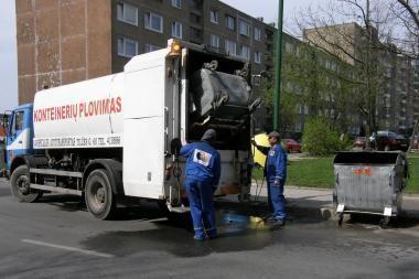 Iki vasaros bus išplauti visi Klaipėdos konteineriai