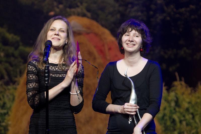 """""""Sidabrinės gervės"""" apdovanojimuose triumfavo K. Buožytės """"Aurora"""""""