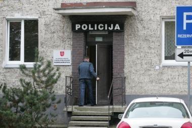 Iš Klaipėdos policijos komisariato pabėgo nusikaltėlis