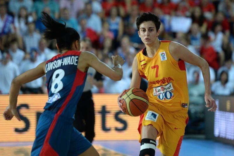 Ispanų krepšininkės - stipriausios Europoje