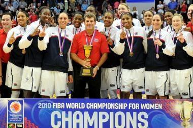 JAV krepšininkės tapo planetos čempionėmis