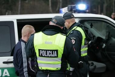 Per paskutinį skambutį policija patruliuos aktyviau