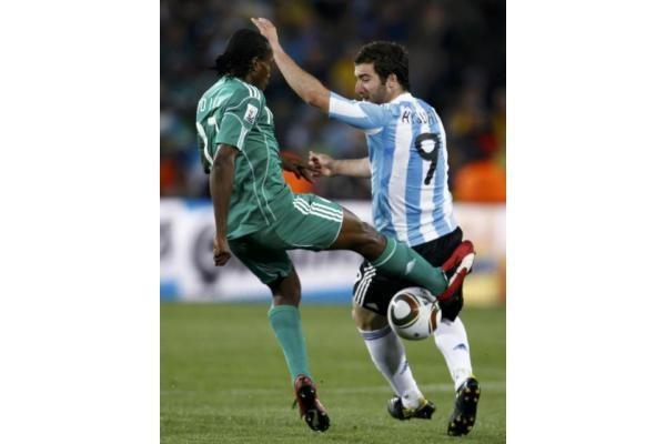 Vienintelis įvartis Argentinai atnešė pergalę