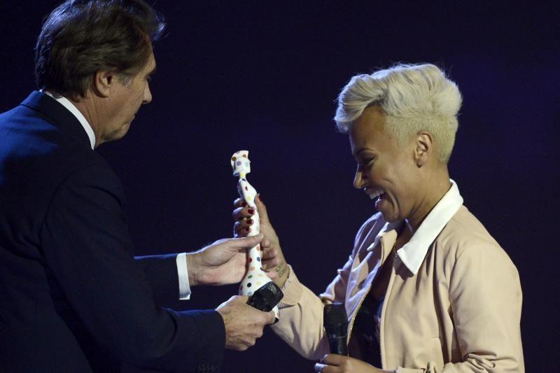 Per Britų muzikos apdovanojimų ceremoniją pagerbta E. Sande