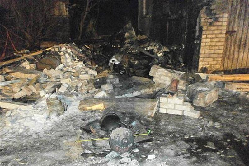 Skuodo rajone per sprogimą žuvo žmogus, trys vyrai apdegė veidus