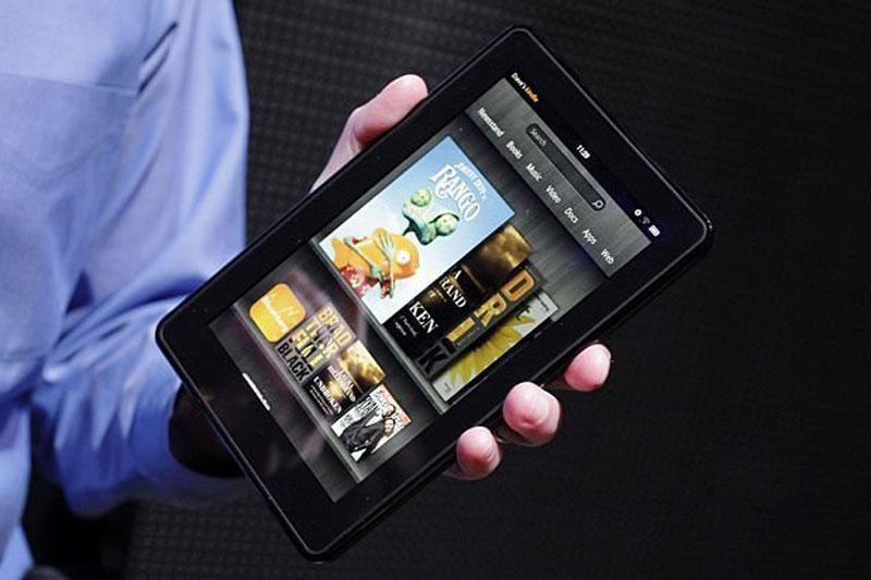 """""""Amazon"""" neatskleidžia, kiek parduota """"Kindle Fire"""" planšečių"""