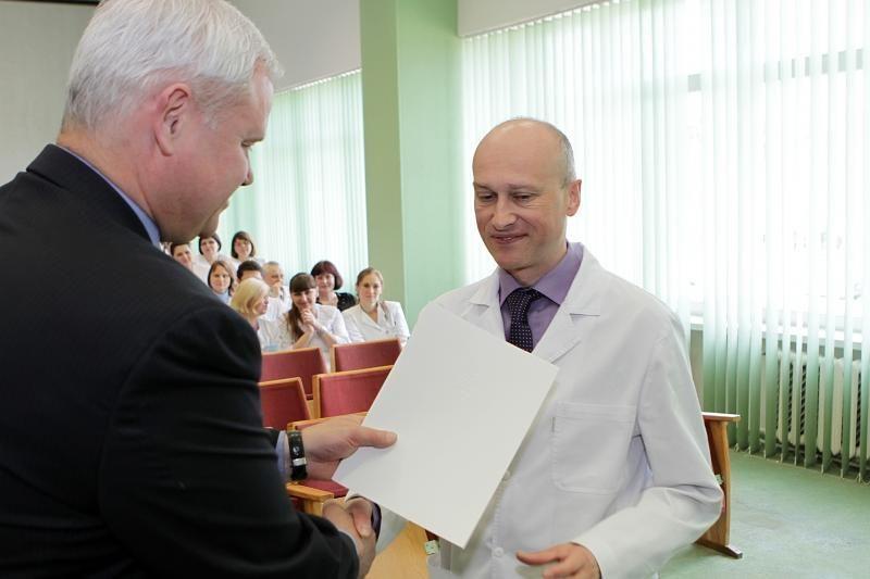 Artėjančios profesinės medikų šventės proga ligoninėje - rekordas