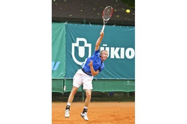 Prezidento taurės teniso turnyrą laimėjo suomis T.Nieminenas