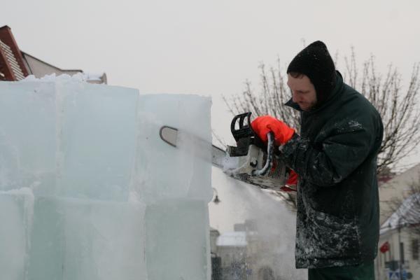 Vilniuje gimsta ledinis miestas (programa,video)