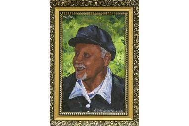 E.Griciaus tapyboje - kubizmo braižas