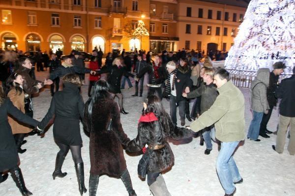 Vilnius Naujuosius metus sutiko su trenksmu