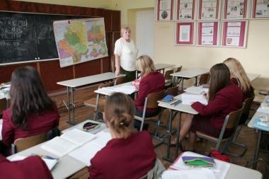 K.Vintilaitė siūlo naikinti direktoriams mokytojauti draudžiantį įsakymą