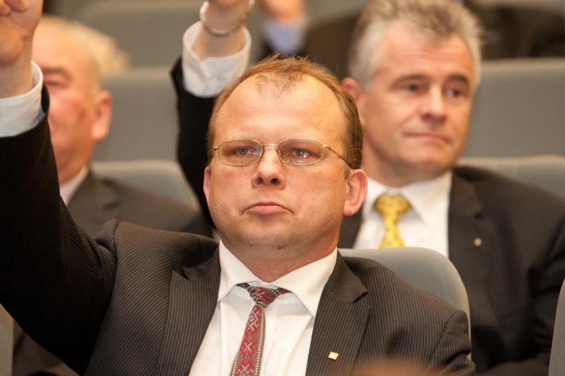 E. Skarbalius užsitraukė Žemaičių partijos valdybos rūstybę