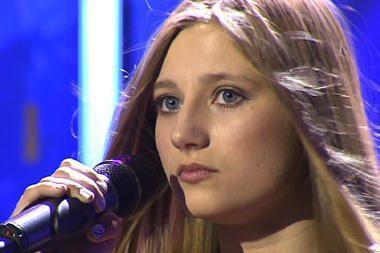 Po paauglės dainos V.Tarasovienė prisipažino: aš gyvenime taip nedainavau