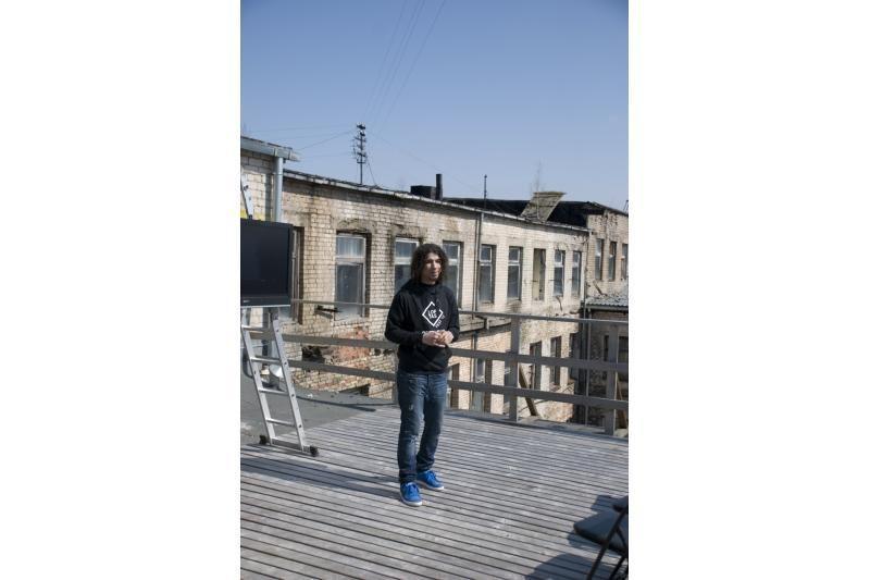 "Per Jonines Vilniuje stogą kels ""Loftas Fest"""