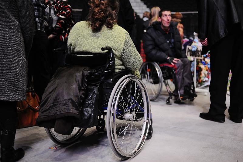 Neįgalieji linki sau drąsos, sveikiesiems – stiprybės